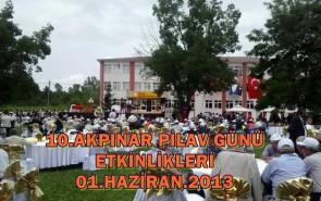 10. PİLAV GÜNÜ 01.HAZİRAN.2013