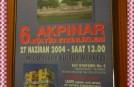 6.AKPINAR KÜLTÜR ETKİNLİKLERİ 27.HAZİRAN.2004