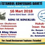 Öğretmen Okulları kuruluşu 16.03.2018