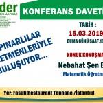 Nebahat Şen12 15.03.2019 Lader