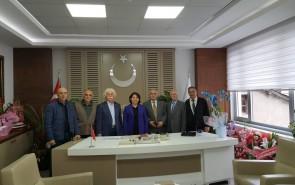 LADİK BELEDİYE BAŞKANI ZİYARETİ 03.05.2019