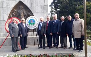 Öğretmenler Günü Samsun Atatürk Anıtına Çelenk Sunumu 24.11.2019