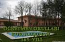 ÖĞRETMEN OKULLARININ KURULUŞ TÖRENİ-SAMSUN 16.03.2013