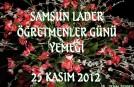 SAMSUN-ÖĞRETMENLER GÜNÜ 25.11.2012