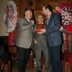 Ladik Bel.Başkanı Mehmet KARAHAN plaket tekdimi