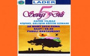 5 SEVGİ DİLİ SEMİNERİ 28.03.2014