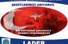 ÇANAKKLE ZAFERİ'NİN 101.YILI