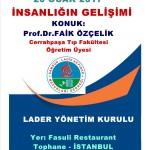 Prof.Dr.Faik özçelik panel