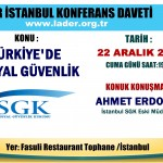 Türkiye'de SGK Lader Konferans