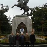 Lader Atatürk anıtına çelenk Samsun